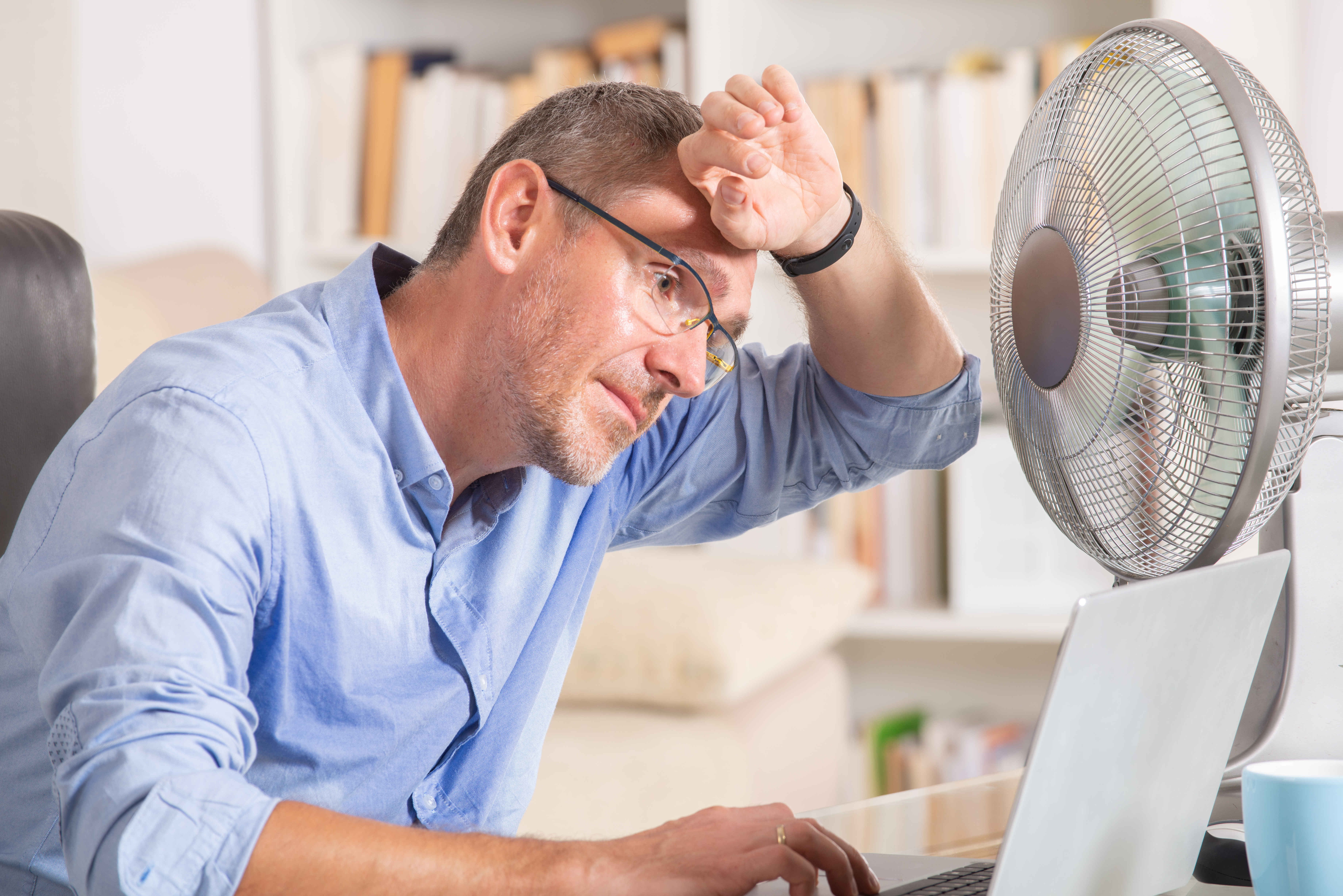 Trying to Keep Cool in the Office